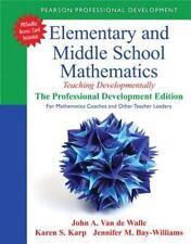 Teaching Student-Centered Mathematics: Elementary and Middle School Mathematics