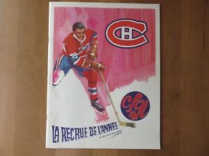 1968-69 November 16 Montreal Canadiens vs.Oakland Seals Game Program NM/MINT