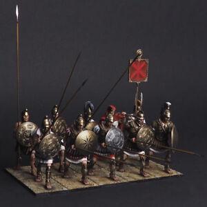 Tin Soldier, Fragment of the Macedonian phalanx (10 miniatures) 54 mm