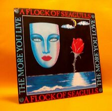 """Vinyl 7"""" Single 45 A Flock Of Seagulls The More You Live...  2TR 1984 (MINT) !"""