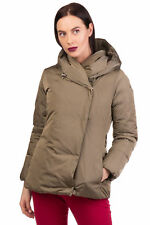 ADD Down Jacket Size 42 / S Quilted Drawcord Hooded Coat RRP£450 Canada Goose M""