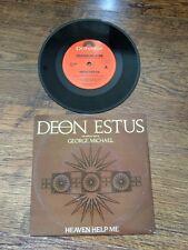 "❤️RARE AUSTRALIAN 7""❤️Heaven Help Me-Deon Estus & George Michael (Wham!)"