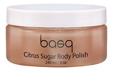 Basq NYC Citrus Sugar Skin Perfecting Scrub 8 oz. Body Exfoliator