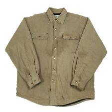 CARHARTT Fleece Lined Overshirt Jacket   Men's M   Workwear Work Shirt Chore