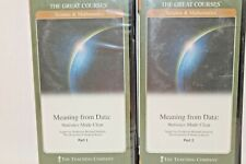 The Great Courses Meaning from Data: Statistics Made Clear (Course Dvds & Guideb