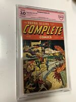 Timely Comics - COMPLETE COMICS #2 - Young Allies - Pre Marvel - CBCS Graded 3.0