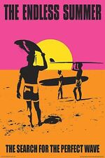 THE ENDLESS SUMMER SURF MOVIE POSTER 1966 surfing around the world perfect wave