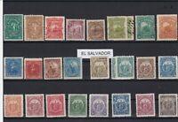 el salvador early stamps ref r12686