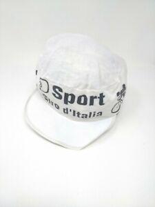 Vintage cappellino ciclismo Cycling hat cicli 3 D sport giro d'Italia original