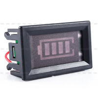 12V Lead-acid Battery Power Indicator Meter Capacity Voltage LED Display Panel A