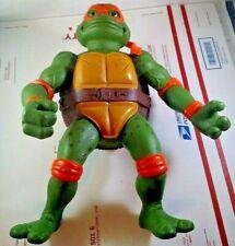 """13"""" Vintage 1992 Teenage Mutant Ninja Turtles Michelangelo Mirage Playmates TMNT"""