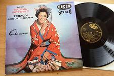 Puccini Butterfly TEBALDI SERAFIN LP DECCA SXL 20 501-B scenes