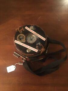 Detex Watchman Guardsman Clock -WORKS, w/Case, case key & station key
