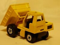 Vintage 1976 Matchbox Superfast No 26 Site Dumper Yellow Truck Lorry Tipper Toy