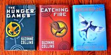 The Hunger Games Trilogy Suzanne Collins Catching Fire Mockingjay Katniss AR HC