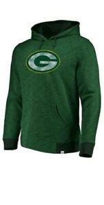 NWT MENS MAJESTIC GREEN BAY PACKERS GAME DAY HOODIE SIZE S