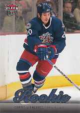 07-08 FLEER ULTRA ROOKIE RC #209 CURTIS GLENCROSS BLUE JACKETS *16252