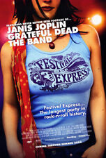 Festival Express (2004) original movie poster - single-sided - rolled