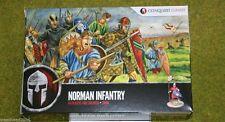 Conquista Conjunto de plástico 28mm infantería Juegos Norman