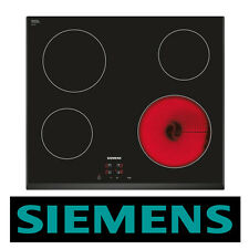 SIEMENS ET651HE17E Built-in Black Frameless Electric Ceramic Kitchen Hob New!!
