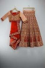 Anjaani Brand Indian Wedding Lehenga Choli Size (L) Brand New