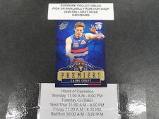 2016 AFL PREMIERSHIP CARD WESTERN BULLDOGS PC9 ZAINE CORDY