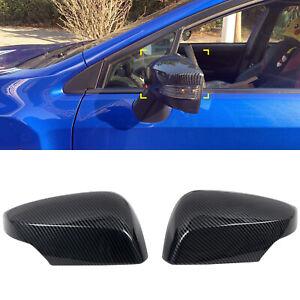 CARTRIMHOME Rearview Side Mirror Cover 2pcs For Subaru WRX / WRX STI 2015-2020