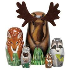"Bits and Pieces - ""Woody And Friends"" American Woodland Creatures Nesting."