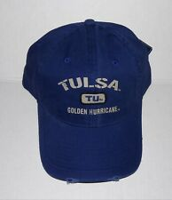 release date: 86512 25c43 New ListingTulsa Golden Hurricane Adjustable Buckle Hat Distressed Cap
