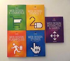 BOOK LOT Icons Web Design Taschen Studios 1 2 E-Commerce Interactive Games Flash