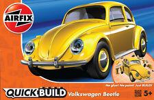 Airfix J6023 VW Beetle Auto Modell Bausatz, Quick Build - Steckbausatz