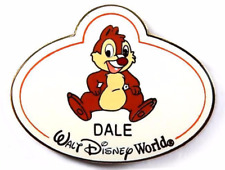Disney Pin 64976 WDW ID Badge Nametag Mystery Tin Collection DALE LE 1600 *
