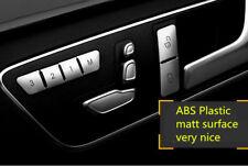Door Lock & Seat Memory Button Cover Trim 12pcs for Benz E-classs W212 2010-2015