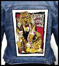 QUEENS OF THE STONE AGE - Woman Warrior --- Giant Backpatch Back Patch