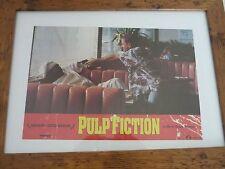 Pulp fiction Roth European 19x14 Lobby card over sized original Quality framed