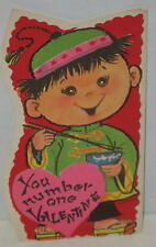 """1960's """"You Number One Valentine"""" Chinese Theme"""