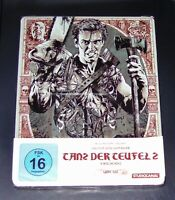 Danza El Diablo 2 Uncut Bruce Cambell Limiterte Ultra 4K steelbook blu ray Nuevo