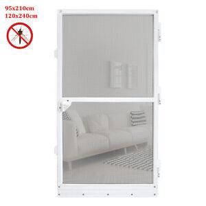 Fliegengitter Insektenschutz Tür Alu Rahmen Mückengitter Gitter Magnet Balkontür