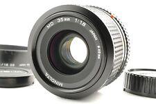 【NEAR MINT】 Minolta New MD 35mm F/1.8 Wide Angle MF Lens From Japan