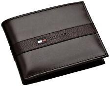 Tommy Hilfiger Men's Leather Ranger Passcase Billfold Wallet