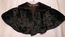 Victorian Childs Fur Cape Capelet Dark Brown Antique Scarce Some Wear