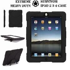 iPad 2 3 4 Military Tough Hard Rugged HEAVY DUTY Shock Protective Survival Case