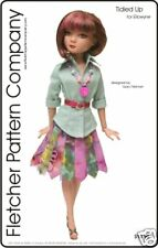 Tidied Up Doll Clothes Sewing Pattern Ellowyne Wilde Fletcher  Tonner