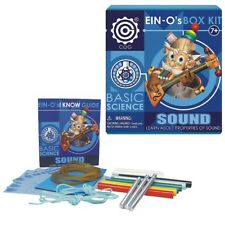 SOUND KIT #32380 TEDCO TOYS ~ Professor Ein-O's BOX KIT Hands-On Experiments