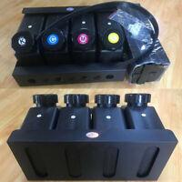 Empty UV CISS Bulk Ink System for Roland Mimaki Mutoh Printer - 4x4 4Color
