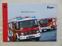 Ziegler Feuerwehr Löschfahrzeug LF 20/16 im Einsatz - Prospekt Brochure 10.2006