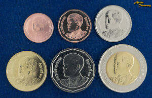 LOT OF 10 SET THAILAND 2018 NEW KING RAMA X (10) 6 COIN SET WHOLESALE UNC