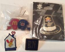 Lot of 4 collectible pins,2 McDonald pins and two others,very nice T360A