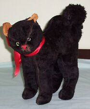 Vintage Hermann Black Tom  Cat.  Halloween Scaredy Character Toy Germany
