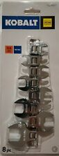 Kobalt 8-Piece Metric Crowfoot Combination Wrench Set Lifetime Guarantee